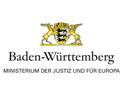 Ministerium der Justiz und für Europa Baden-Württemberg Logo