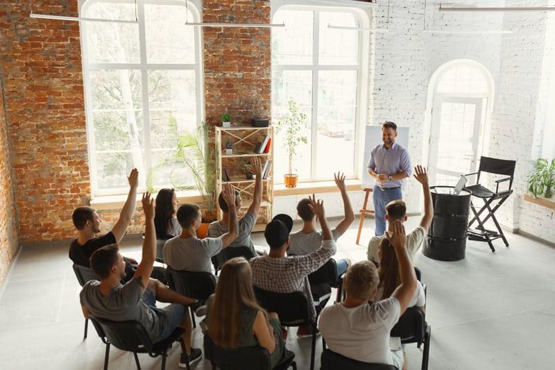 Schulung Moderation und Präsentation